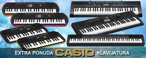 Casio sintisajzeri, klavijature, pianina