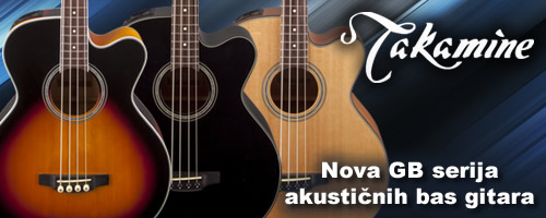 Takamine - GB serija, akusticne bas gitare