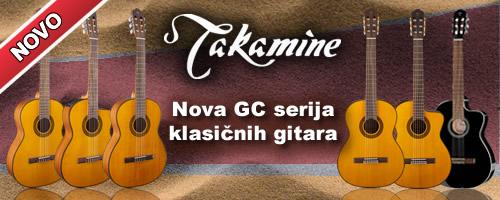 Takamine - GC serija, nove klasicne gitare
