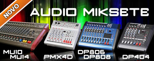 Aster Audio Miksete, Audio Mixers