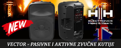 HH Electronics VRE-12 and VRE-15A passive and anctive speakers