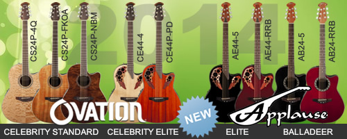 Ovation, Applause new model 2014