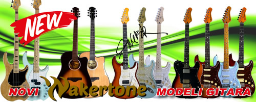 Wakertone guitars - electric, acoustic, bass